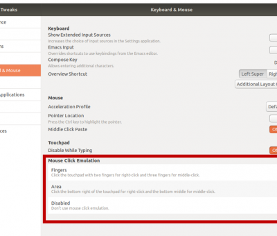 How to Enable Right | Middle Click On Clickpads – Ubuntu 10.10